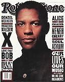 Rolling Stone Magazine # 644 November 26 1992 Denzel Washington (Single Back Issue)