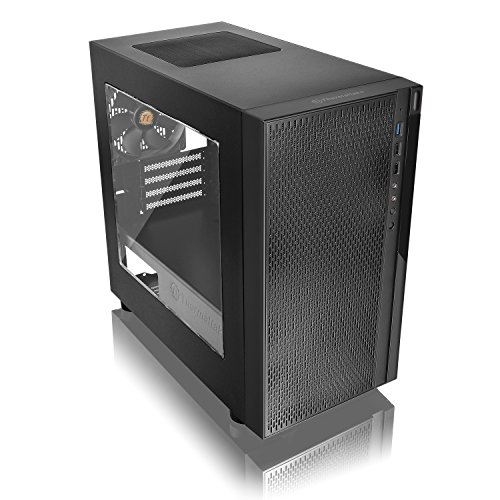 ThermaltakeVersaH18ミニタワー型PCケースCS7097CA-1J4-00S1WN-00
