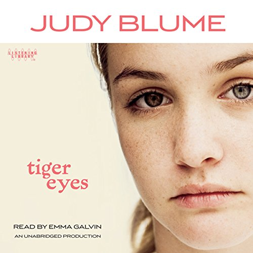 Tiger Eyes audiobook cover art