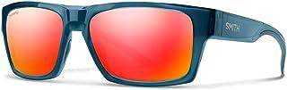 Smith Optics Outlier 2 200670OXZ56X6 Unisex Crystal Mediterranean Frame Red Mirror ChromaPop Lens Square Sunglasses