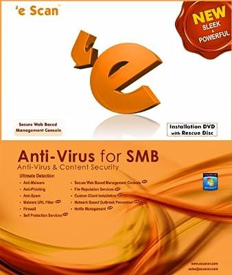 eScan Antivirus (AV) for SMB 10 users 2 years [Download]