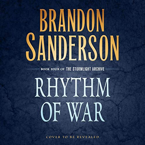Rhythm of War audiobook cover art