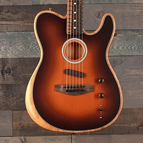 Fender American Acoustasonic Telecaster Sunburst w/Premium Gig Bag