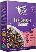 Yogabar Wholegrain Breakfast Muesli - Dark Chocolate + Cranberry, 400g (Single Pack)
