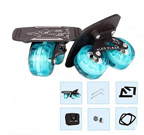 TTYY Freeline Drift Skates Flash Wheel High-end Bearings Scooters Portable for Outdoor Entertainment Land Surfing Set