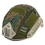 Aoutacc Funda táctica para casco Multicam Militar Fast Casco para casco FAST MH/PJ (sin casco), DW.