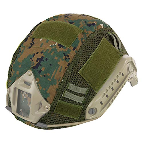 Copertura tattica Multicam casco militare veloce per casco FAST MH/PJ (senza casco) (DW)