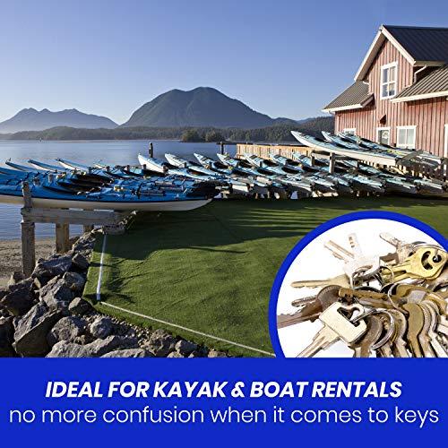 Rollable Key Case, Roll Up Key Organizer, Roll Up Key Case, Flexible Durable Vinyl, 30 Keys Photo #5