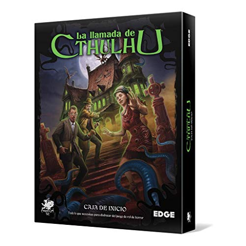 Edge Entertainment- Caja de Inicio: La Llamada de Cthulhu, Color (EECHCT04)