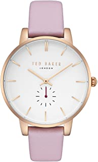 bfd853ed428c Ted Baker Female    Olivia  Stainless Steel Quartz Watch with Pink Strap