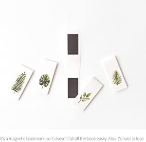 Monolike Magnetic Bookmarks Tropical, Set of 5