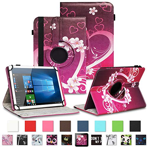 NAUC Asus ZenPad 3 8.0 Tablet Schutzhülle Tasche Tablettasche Hülle mit Standfunktion 360° drehbar hochwertige Kunst-Leder Verarbeitung Cover viele Motive Universal Tablethülle Hülle, Farben:Motiv 2