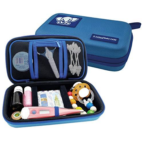 PILLBASE Baby Case Pflegeset leer | Reiseapotheke | Kosmetiktasche unterwegs | Familie | Kulturbeutel | Kulturtasche | tragbar & mobil | Aufbewahrung Reisen