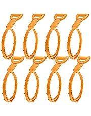 8 stuks haarafvoer verstopping remover, Senhai afvoer slang uitrusting / oogtype reinigingsgereedschap