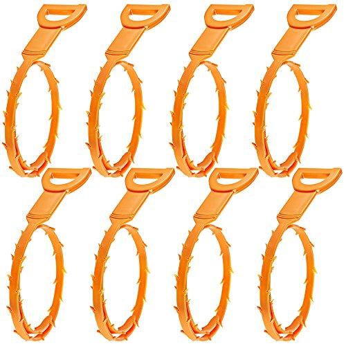 8 Packung Haar Abfluss verstopfen Remover, Senhai ablassen Schlange Ausrüstung / Auger-Typ Reinigungswerkzeug