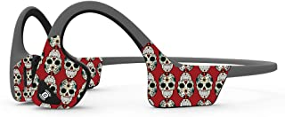 MightySkins Skin Compatible with Aftershokz Trekz Air Wireless - Sugar Skull | Protective, Durable, and Unique Vinyl Decal...