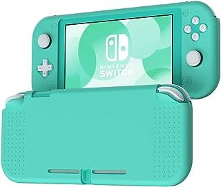 KIWI design Nintendo Switch Lite ニンテンドースウィッチ Lite ケース カバー シリコン素材 衝撃吸収 擦り傷防止 全面カバー 保護ケース 任天堂スウィッチライト専用 (ライトグリーン)