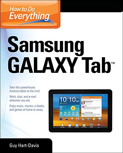 Compare Textbook Prices for How to Do Everything Samsung Galaxy Tab 1 Edition ISBN 8601300056739 by Hart-Davis, Guy