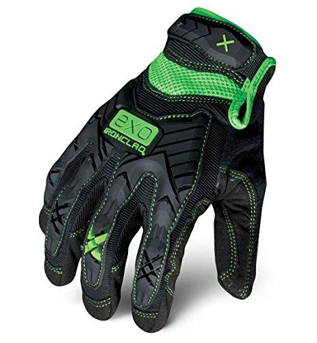 Ironclad EXO2-MIG-04 Work Gloves Impact Protection Gloves Black, Large