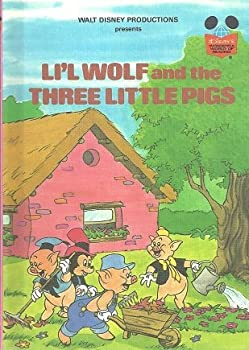 Walt Disney Productions Presents Li'l Wolf and the Three Little Pigs - Book  of the Disney's Wonderful World of Reading