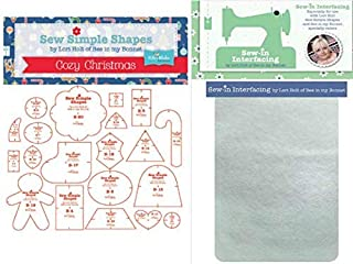 Lori Holt's Sew Simple Shapes with Packaged Pellon - 3 Yards (Cozy Christmas)