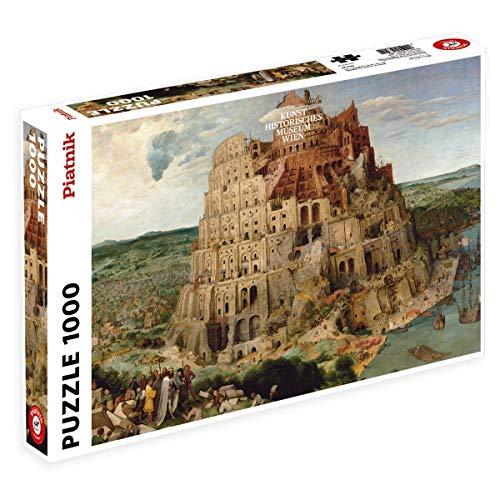 Piatnik KHM Brueghel Turm von Babel, 1.000 Teile