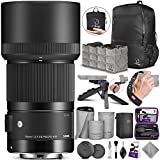 Sigma 70mm f/2.8 DG Macro Art Lens for Sony E with Altura Photo Essential Accessory and Travel Bundle