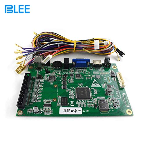 BLEE Pandora Box 6S Video Game 1388 in 1 Jamma Mutli Game Board Arcade Machine DIY Kit with Harness Wire, Support HDMI VGA Classic Vintage Games Bundle Home Edition