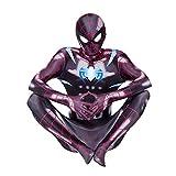 GYMAN Disfraces para Niños Niños PS4 Spiderman Impresión 3D...