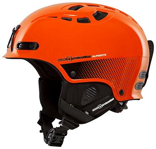 Sweet Protection igniter Casque de Ski pour Adulte Motif Alpiniste S/M Orange - Orange
