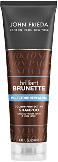 John Frieda Brilliant Brunette Multi-Tone Revealing Colour Protecting Shampoo, 8.45 Ounces