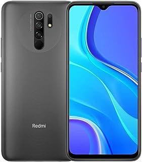 "Xiaomi Redmi 9 64GB, 4GB RAM, 6.6"" Full HD + AI Quad Camera Smartphone LTE Desbloqueado de fábrica - Versión Internacional..."
