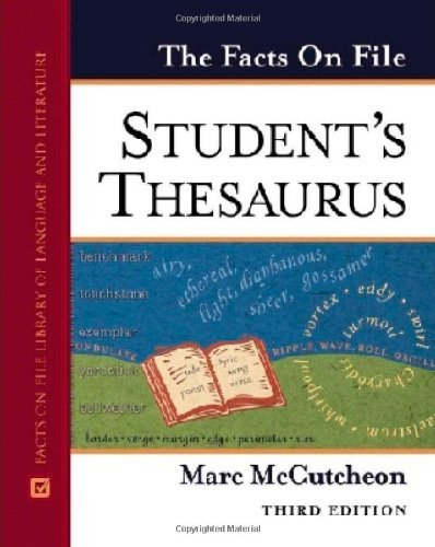 The Facts On File Student's Thesaurus (English Edition)