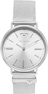 Relógio Masculino Technos Slim 2025LTL/1K - Prata