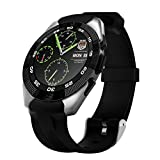 kivors Bluetooth Smart Watch Fitness Tracker Uhr mit Herzfrequenz Monitor Sport Armband...