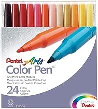 Assorted Colors Pen Set [Set of 6]