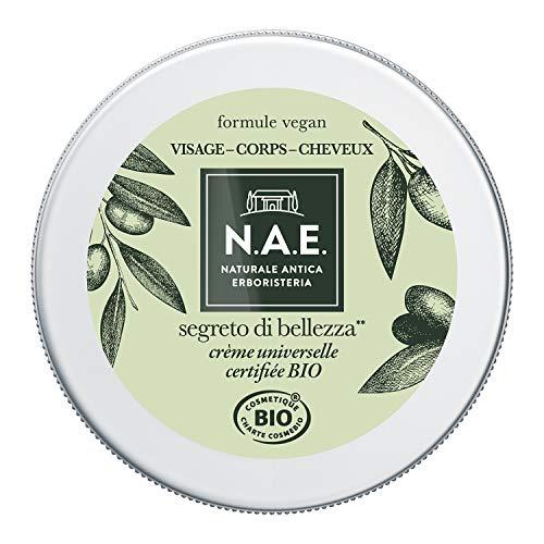 N.A.E. - Crème Universelle Hydratante - Visage Corps Cheveux - Certifiée Bio - A l'Huile d'Olive - 98% d'ingrédients d'origine naturelle - Contenant de 150 ml