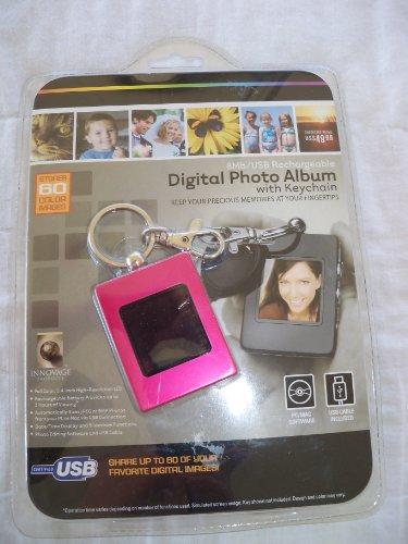 Digitales Fotoalbum mit Schlüsselanhänger