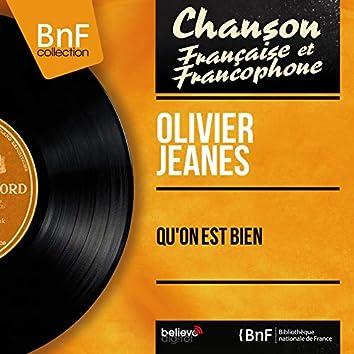 Qu'on est bien (feat. Raymond Le Pers et son orchestre) [Mono Version]