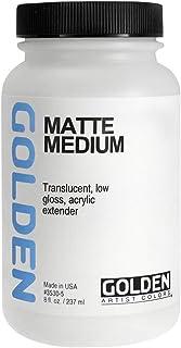 Golden Matte Medium-8oz (並行輸入品)