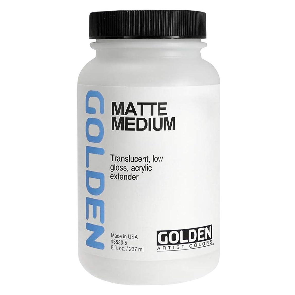 覚醒ほのめかす懐疑的Golden Matte Medium-8oz (並行輸入品)