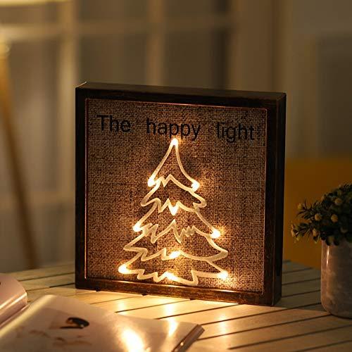 XLTT Lámpara de pared con diseño de viento nórdico, retro, de plástico, para decoración de la sala de estar, luz nocturna