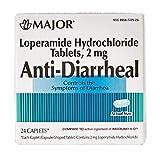 Major Anti-Diarrheal (Loperamide 2 mg/Blister Packed Capsules (24)