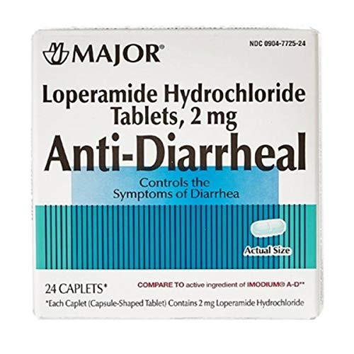 Major Anti-Diarrheal (Loperamide 2 mg/Blister Packed Capsules (24)