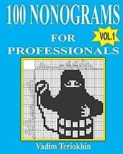 100 nonograms for professionals (Volume 1)
