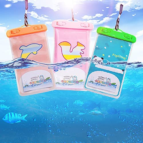 3 Pieces of Mobile Phone Protective Bag,Universal Mobile Phone Bag,Dry Bag Outdoor Beach Bag, Suitable for iPhone 11/11 Pro/11 Pro Max/Xr/Se/Xs/8 7 6s Plus,Other Mobile Phone Boxes Up to 6.9``-4