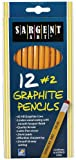 Sargent Art 22-7291 12ct. #2 HB Yellow Graphite Pencils