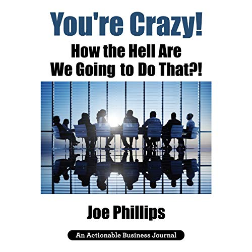 You're Crazy! How the Hell Are We Going to Do That?!: What Leaders Need to Do to Be Successful and Get Their People Fully Engaged and Fully Committed audiobook cover art