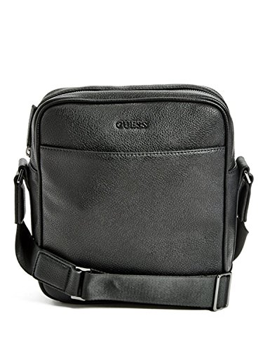 GUESS Men's Dion Faux-Leather Crossbody Bag