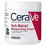 CeraVe Moisturizing Cream for Itch Relief | 19 Ounce | Dry Skin Itch Relief...